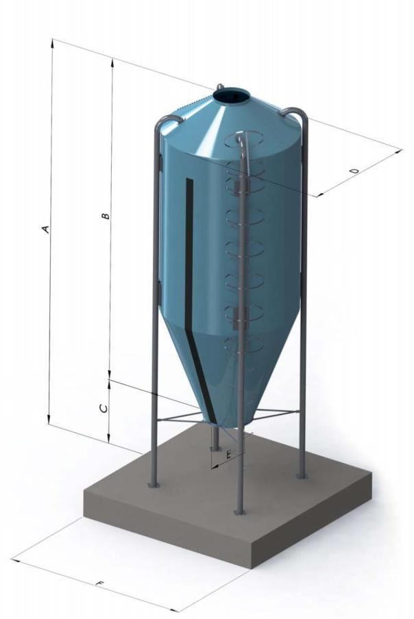 Силоса и бункеры из стекловолокна